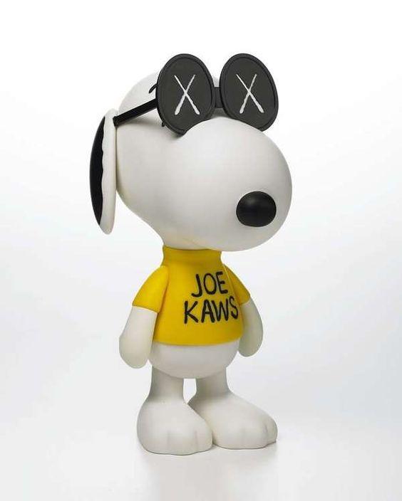 joe kaws snoopy figurine
