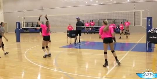 4 On 4 Dig Set Drill From Texas Advantage Volleyball Club In 2020 Volleyball Clubs Volleyball Drill