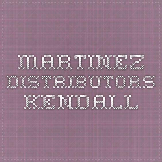 Martinez Distributors Kendall Restaurants Shops Pinterest