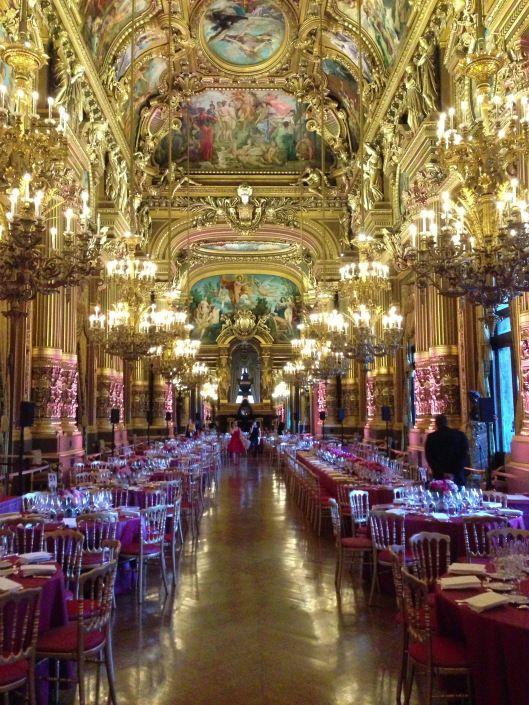 fine dining a la Paris, France