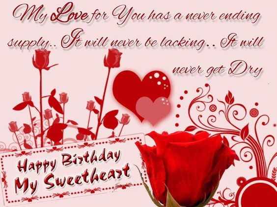 Happy Birthday Wishes For Lover Wallpaper | Wallpapers Catalog ...