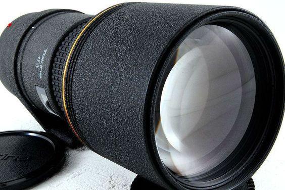 Tokina 300mm F4 AT-X 304 AF A-mount lens detail page