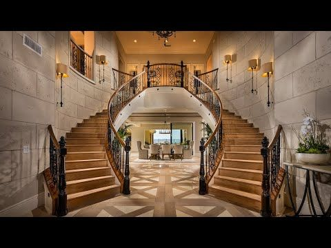 California Life Style Of The Rich 2 9m Luxurious Mansion 5 995 Sqft 6bd 6 Ba 4 Cr Youtube In 2020 Luxury Homes New Homes Foyer Decorating