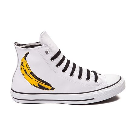 Mens Converse Chuck Taylor All Star Hi Leather Andy Warhol