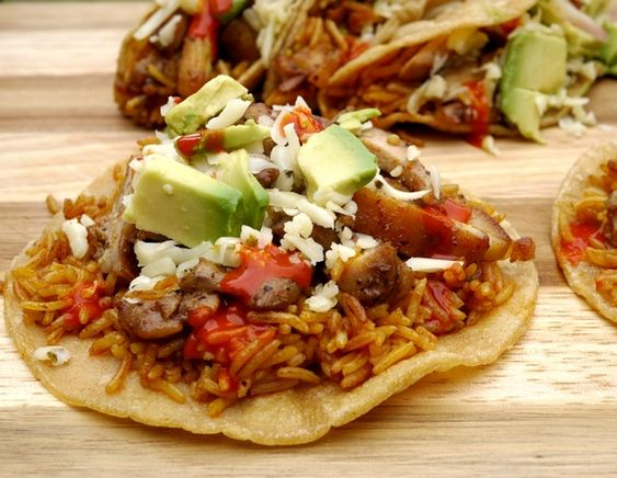 Chicken Paprikash Tacos ~T~ A nice twist on tacos. Love the smoky ...