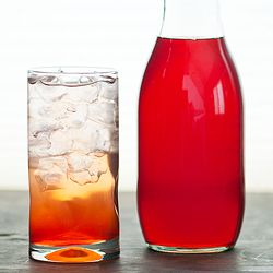 Out of this world, amazingly fresh and fruity homemade strawberry syrup. #foodgawker