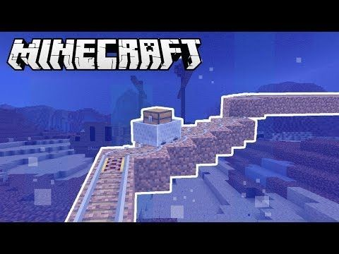 How To Make An Minecart Drill In Minecraft Youtube Minecraft Drill How To Make