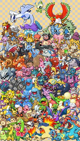 Epic Pokemon Pattern Generation II