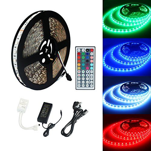 Eco-Lux ECOLUX® 10M 5050 RGB 600Led Color Changing Led Strips with 44 key IR Remote 24V 6A AC UK Plug Adapte No description (Barcode EAN = 0606276883028). http://www.comparestoreprices.co.uk/december-2016-3/eco-lux-ecolux®-10m-5050-rgb-600led-color-changing-led-strips-with-44-key-ir-remote 24v-6a-ac-uk-plug-adapte.asp