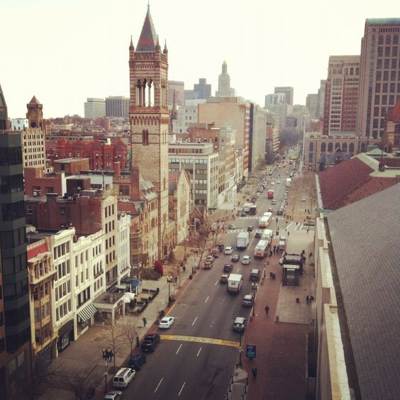 This Is A View Of Boylston Street Including The Finish Line Boston Marathon Taken From Room 1100 At Lenox Hotel Ma Pinterest