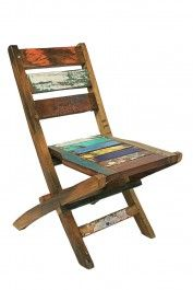 Ecologica Reclaimed Wood Folding Chair