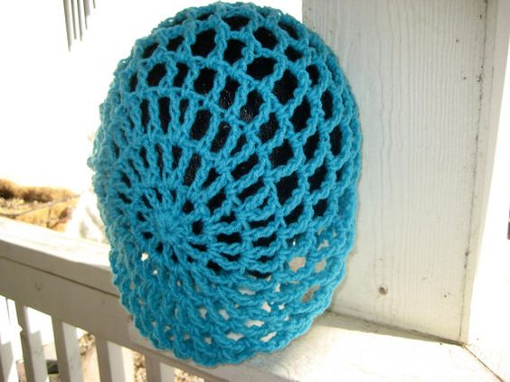 Mesh spring summer crochet hat by BitchinBagsbyBenita on Etsy
