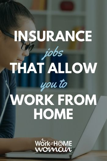 Home Auto And Life Insurance Jobs That Allow Telecommuting With