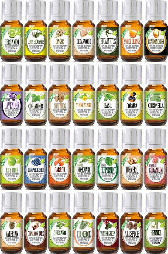 Best of the Best Portfolio with Mixing Bottles 28 100% Pure Therapeutic Grade Essential Oil Set - 28/10 mL *** You will love this! More info here : peppermint essential oil