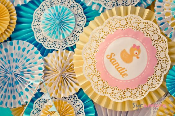 Oh One Fine Day: RUBBER DUCKY BABY SHOWER