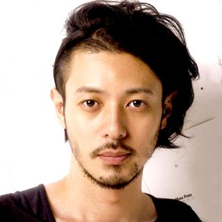 Joe odagiri , like his unique undercut hairstyle