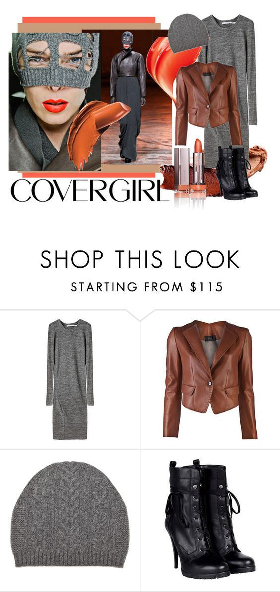 """Transform your look with COVERGIRL"" by wandernat ❤ liked on Polyvore featuring COVERGIRL, Rick Owens, Étoile Isabel Marant, Hanii Y, rag & bone and Miss Sixty"