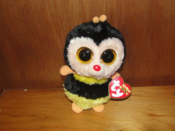 Ty Beanie Boo Sting the Bee Mint with Tags