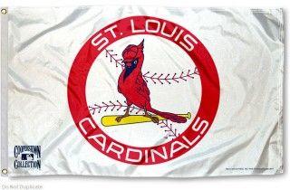 St. Louis Cardinals Vintage Flag