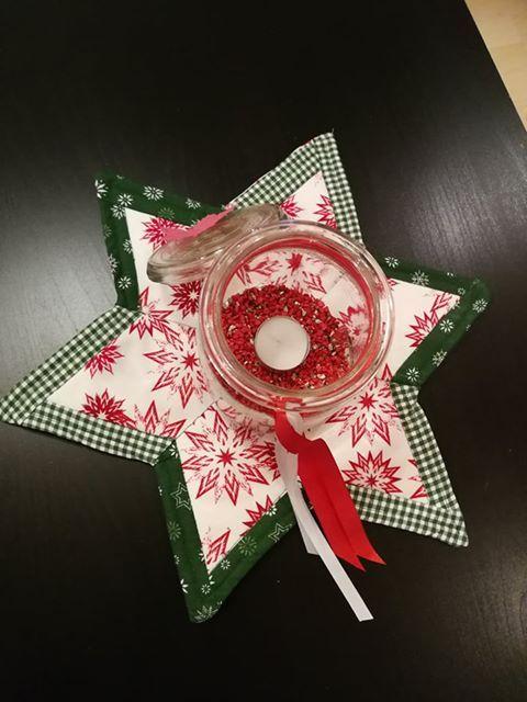 Stern Nahen Patchwork Decke Oder Platzdeckchen Sterne Nahen Sterne Und Weihnachtsstoff
