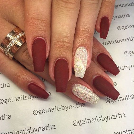 60 Unique Matte Nail Ideas To Elevate Your Look Silver Nails