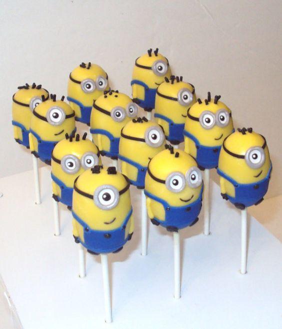 Minion cake pops: Minion Cake Pops, Minion Cakes, Cake Ideas, Character Cake, Party Ideas, Ideas Cake, Cakes Birthday, Birthday Cakes
