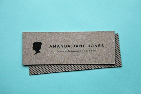 beautiful business cards! @Amanda Jane Jones