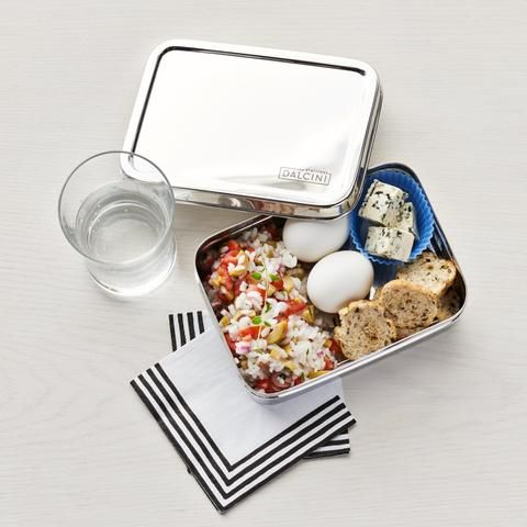 Dalcini Stainless Steel Original Lunchbox Dalcini Stainless