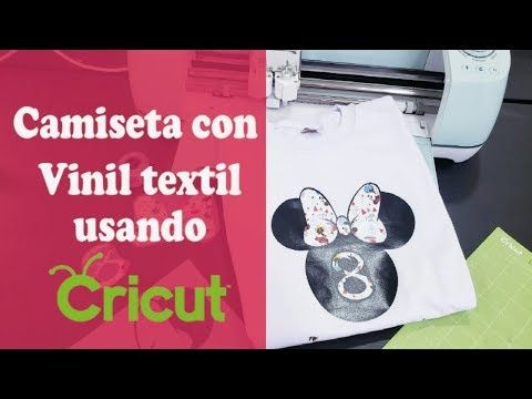 Como Plasmar Minnie Mouse Con Vinilo Textil En Camiseta Usando