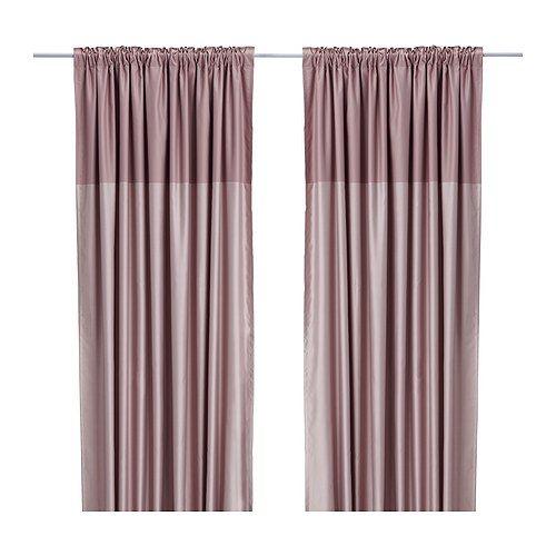 DAGNY Pair of curtains IKEA Hemmed at 98 3/8