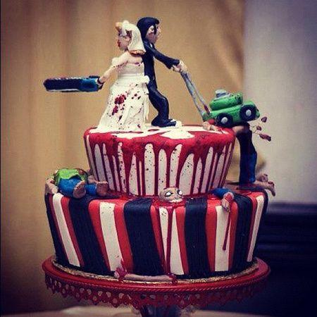 Een bruidstaart is maar een taart toch? Niet dus. Aangezien alles op dè dag voor de rest van je leven in je geheugen gegrift blijft staan, moet je ook over ditstukje glazuurgekmakend suikerwerk goed nadenken...