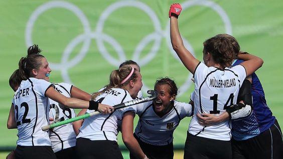 Hockey-Wahnsinn geht weiter   Auch die Frauen im Halbfinale - Olympia 2016…