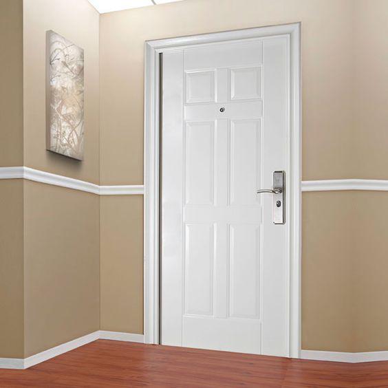 Puerta de seguridad principal exterior o interior for Medidas puertas interior