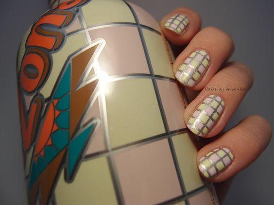Nails by Arvonka: Arizona Iced Tea Nails