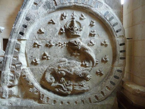 La salamandre, symbole de François 1er