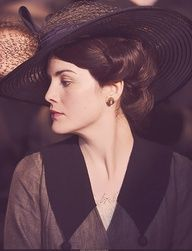 Lady Mary  | More Downton Abbey photos here:  http://mylusciouslife.com/historical-style-downton-abbey-photos/