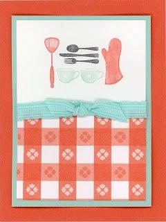 Cute kitchen card