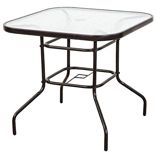 Furniture Outdoor Patio Table, Outdoor Patio Dining Table With Umbrella Hole