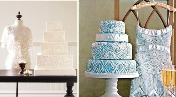 fashion inspired cakes getting-hitched