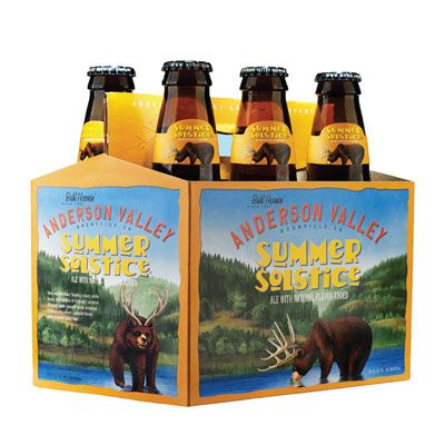 Bia Anderson Valley Summer Solstice 5% - Chai 330ml