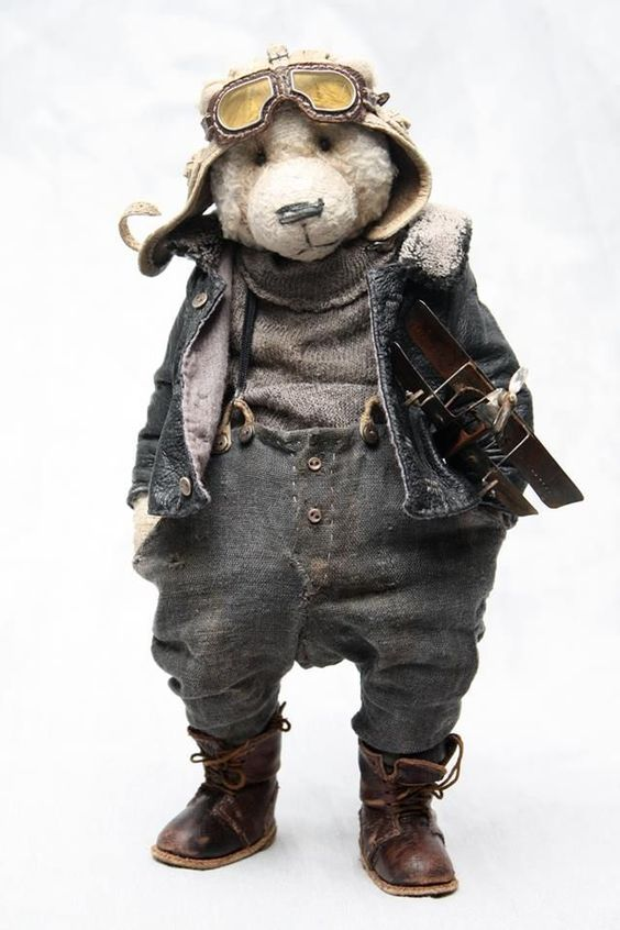 author's Teddy bear Olga Zharkova: