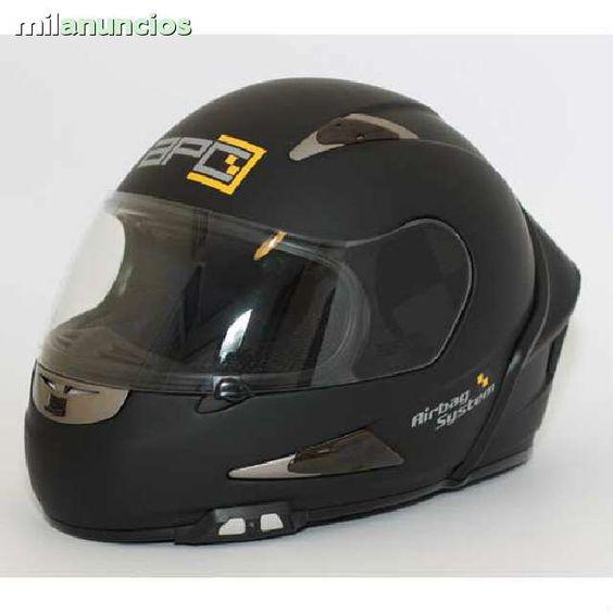 . Vendo casco moto con airbag inclu�do de color negro talla S X o L totalmente nuevo. Detecta, Comunica e Infla la bolsa ente 1 d�cima y 1,5 d�cimas de segundo.Carcasa externa ultraligera de composite de fibras. Relleno protector multi-densidad. Cierre r�p