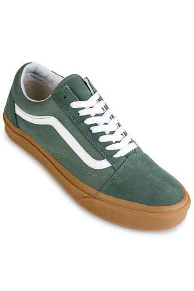 Vans Old Skool Chaussure (duck green) | Chaussure skate, Acheter ...
