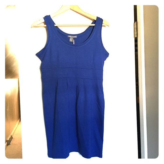 Blue tank dress Stretchy tank sundress. Brand new with tags Dresses