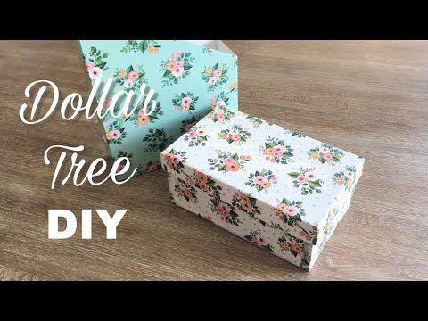 Dollar Tree Diy 0 10 Cent Diy Classy Crafting Parcels Youtube Dollar Tree Diy Shoe Box Diy Thrift Store Crafts