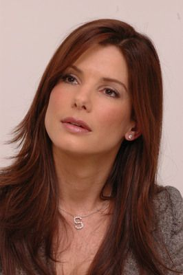 red hair - sandra bullock