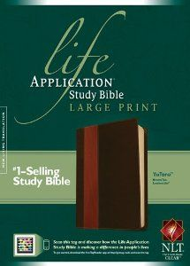 Life Application Study Bible NLT, Large Print, TuTone by Tyndale. Save 37 Off!. $50.39. Publication: July 16, 2012. Publisher: Tyndale House Bibles; 2 Lrg edition (July 16, 2012)