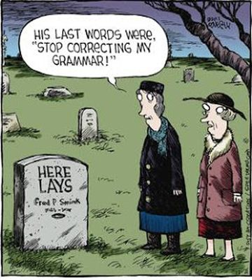 Grammar from the Grave