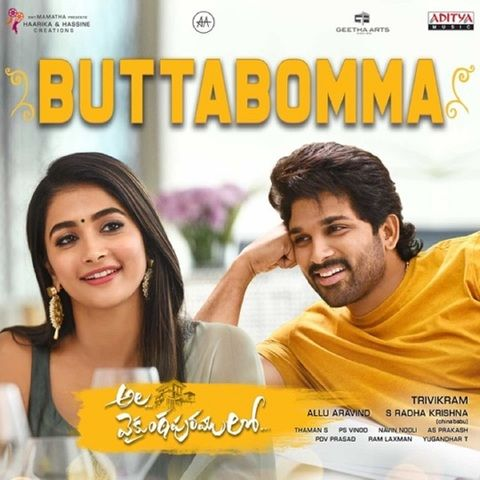 Buttabomma Mp3 Song Download Ala Vaikunthapurramuloo Buttabomma Telugu Song By Armaan Malik On Gaana Com In 2020 Mp3 Song Download Mp3 Song Latest Dj Songs