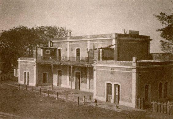 Estación de FF.CC de Martos (1.926).